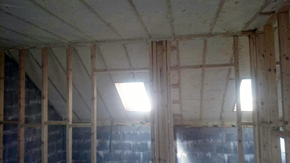 Spray foam prevents respiratory illnesses such as asthma and allergies